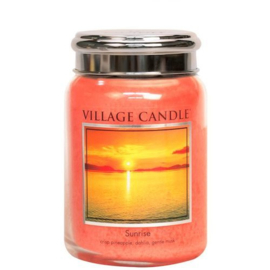 Sunrise Village Candle  Large Jar 170 Branduren