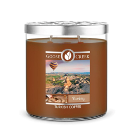 Turkish coffee Goose Creek Turkey  World Traveler 2 Wick 453 gram