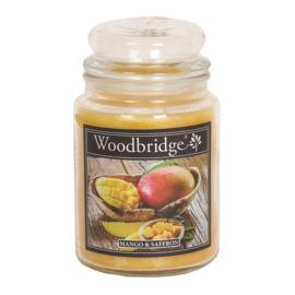 Mango & Saffron  Woodbridge Apothecary Scented Jar  130 geururen
