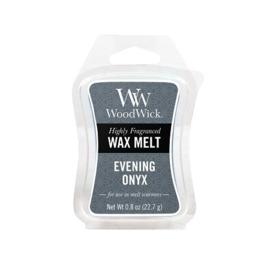 Evening Onyx WoodWick  Waxmelt