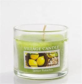 Lemon Pistachio Village Candle  Mini Glass Votive