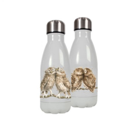 Wrendale Designs Waterfles Thermoskan 'Birds of a Feather' 260ml