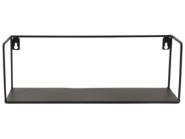 Gusta Wandplank 35x12cm Zwart