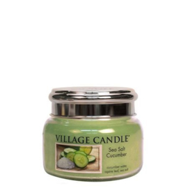 Seasalt & Cucumber  Village Candle  Jar Small  55 Branduren