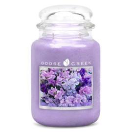 Sweet Pea Goose Creek Candle 24oz Large Jar