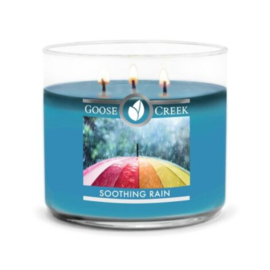 Soothing Rain  Goose Creek Candle Soy Blend 3 Wick Tumbler