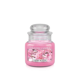 Cherry Blossom Country Candle Mini Jar  30 Branduren