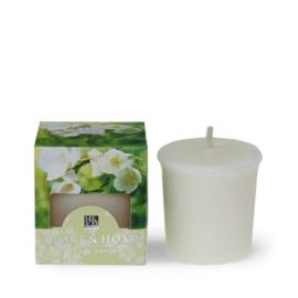 White Jasmine and Freesia Heart & Home Votive kaars 52 gram