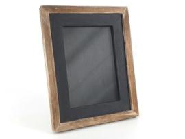 Fotolijstje 24x19cm natural/black