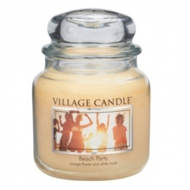 Village Candle Beach Party  Medium 105 Branduren