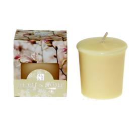 Magnolia Blossem  Heart & Home Votive Geurkaars 52 gram