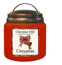 Chestnut Hil Cinnamas  2 wick Candle 450 Gr