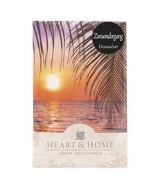 Zonsondergang Heart & Home Geurzakje
