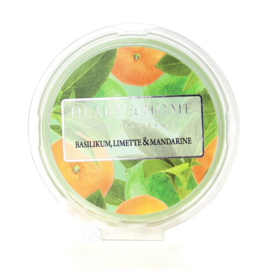 Basil Limette &   Mandarine Heart & Home Waxmelt