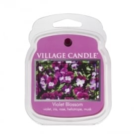 Violet Blossom Village Candle 1Wax Meltblokje