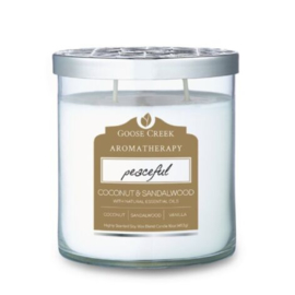 Coconut & Sandalwood Goose Creek Aromatherapie Candle 453 gram
