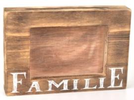 """Fotolijst """"familie"""" 16x25cm Natural"""