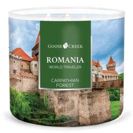 Carpathians Forest  Goose Creek Romania World Traveler 3 Wick