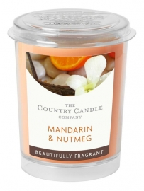 Mandarin & Nutmeg Country Candle votive geurkaarsje