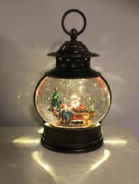 Kerst lantaarn Ovaal 25 cm    Led Water Spinner