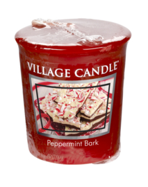 Peppermint Bark Village Candle Premium (61g) Votive