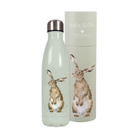 Wrendale Designs Waterfles Thermoskan 'Hare and the Bee' (Haas) 500ml