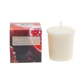 Ruby Pomegranate  Heart & Home  Votive Geurkaars  52 gram