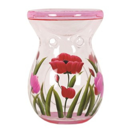 Hand Painted Tulip Waxmelt burner