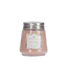Currant Rose Greenleaf  Petite Candle