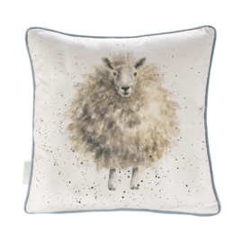 Wrendale Designs The Woolly Jumper (Schaap) kussen    40 x 40 CM