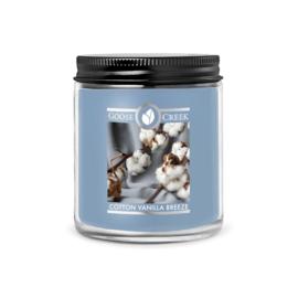 Cotton Vanilla Breeze Goose Creek  7oz soywax candle