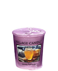 Honey Patchouli Village Candle Premium (61g) Votive