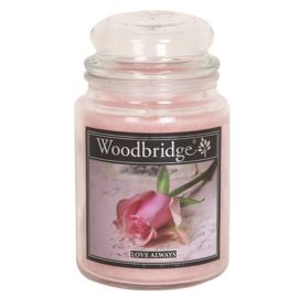Love Always Woodbridge Apothecary Scented Jar  130 geururen