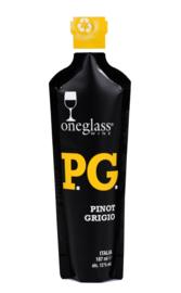 Oneglass Wine Pinot Grigio Delle Terre Siciliane igt 187ml