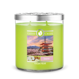Nashi Pear  Goose Creek Japan  World Traveler 2 Wick 453 gram