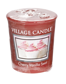 Cherry Vanilla Swirl Village Candle  Premium (61g) Votive