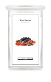 Winter Berries  Classic Candle Large 2 wick