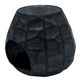 Waxmelt - Olie Geurbrander Chiselled zwart 10,5 X 12,6 cm