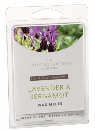 Lavender & Bergamot The Country Candle Company Waxmelt
