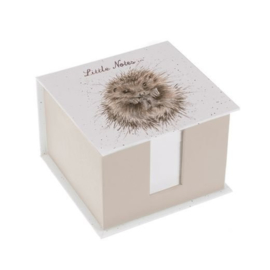 Wrendale Designs Memo Block Little Notes  Hedgerow ( Egel )