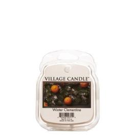 Winter Clementine  Village Candle Wax Melt