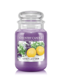 Lemon Lavender Country Candle Large Jar 150 Branduren