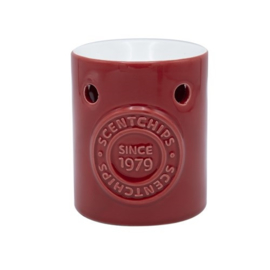 Waxmelt Geurbrander rood 8x8x10 cm