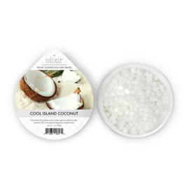 Cool Island Coconut  Goose Creek Elixer Wax  Melt Cup