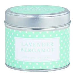 Lavender & Bergamot The Country Candle Sojawax Geurkaars