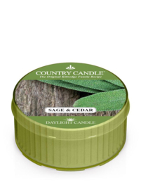 Sage & Cedar Country Candle Daylight