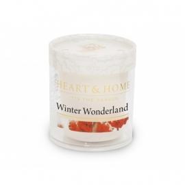 Winterwonderland Heart & Home Votive Geurkaars  52 gram