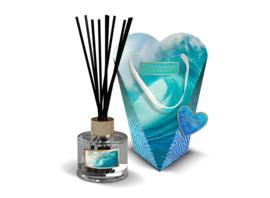 Ocean Sapphire  Heart & Home Geurstokjes & Diffuser