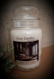 Warm & Cosy   Cosy Candles  130-150 geururen