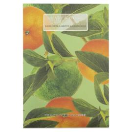 Basilicum Limette & Mandarin Heart & Home   Geurzakje